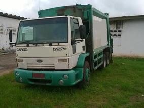 Ford Cargo 1722 Compactador De Lixo Ano 2011