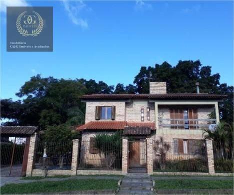 Sobrado Com 3 Dormitórios À Venda, 296 M² Por R$ 418.000 - Jardim Krahe - Viamão/rs - So0092