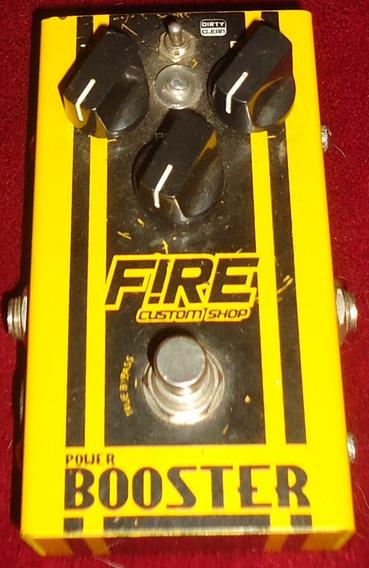 Pedal Power Booster Fire Custom Shop [kelmer Music]