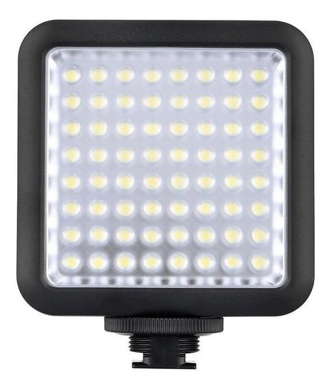 Luz contínua tipo painel Godox LED64 branca-fria