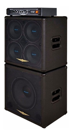 Cubo Oneal Baixo Trio Ocb 1000h - 950 Watts Rms Total 3 Pçs