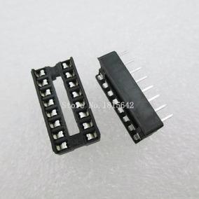 Kit 20 Sockets Para Ci 16 Pinos, Eletronica, Automação