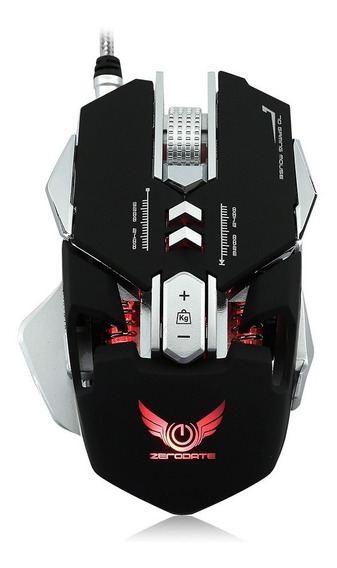 Gaming Mouse Mouse 7 Programável Botões J1116-4 C5205b