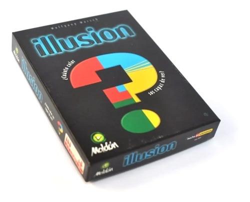 Juego De Mesa Ilusion Maldon Cartas Colores Habilidad Niños