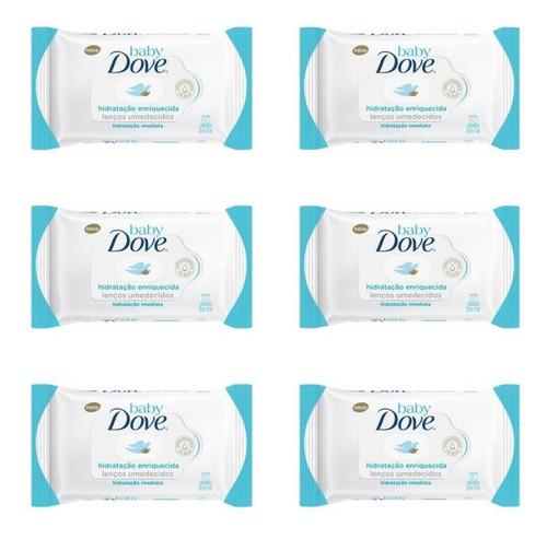 Dove Hidratação Enriquecida Lenços Umed C/50 (kit C/06)