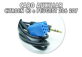 Cd Player Original Peugeot 206 Com Key Code - Acessórios