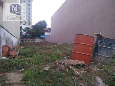 Terreno À Venda, 400 M² Por R$ 2.000.000 - Jardim - Santo André/sp - Te0623