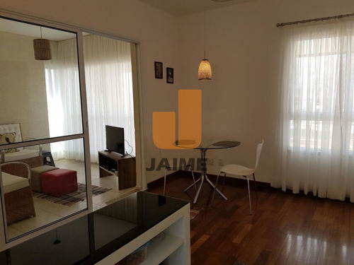 Apartamento Para Venda No Bairro Higienópolis Em São Paulo - Cod: Ja3965 - Ja3965