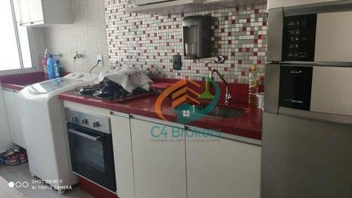 Imagem 1 de 20 de Apartamento Com 2 Dormitórios À Venda, 45 M² Por R$ 244.000 - Jardim Adriana - Guarulhos/sp - Ap1662