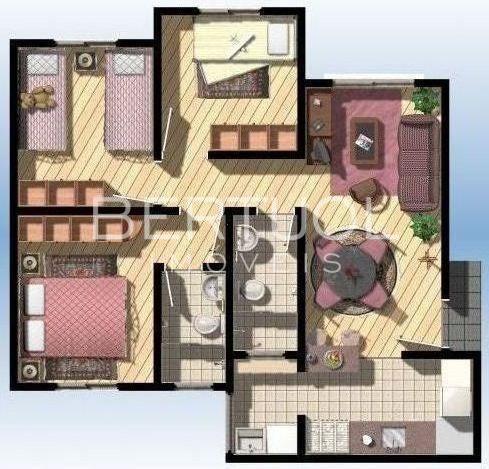 Apartamento Para Aluguel, 3 Quartos, 1 Suíte, 1 Vaga, Capela - Vinhedo/sp - 8197