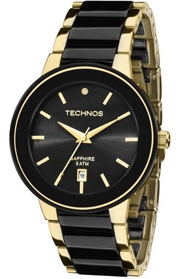Relógio Technos Feminino Elegance Sappire 2115krs/4p