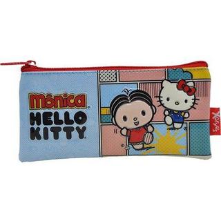 Estojo Escolar Flat Hello Kitty - Monica Bff - 7915 Xeryus