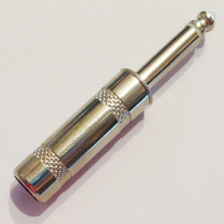 Ficha Plug 6.5 Mm 1/4 Mono Metálica Pro T/ Switchcraft 04-19