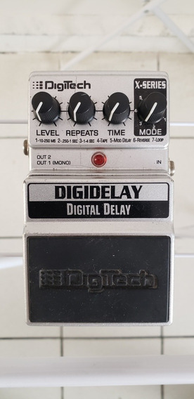 Pedal De Delay Digidelay Digitech Impecável