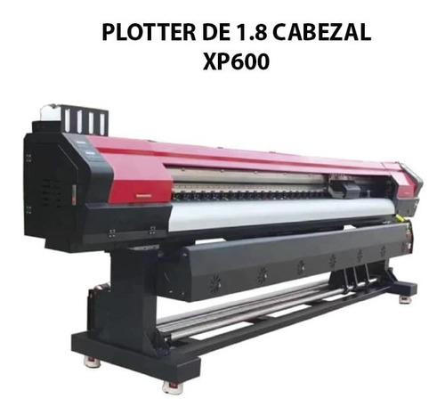 Imagen 1 de 2 de Plotter De Impresión 1.8 Xp600  O Dx5 Cabezal Epson