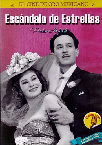 Imagen 1 de 3 de Escandalo De Estrellas Pedro Infante Pelicula Dvd