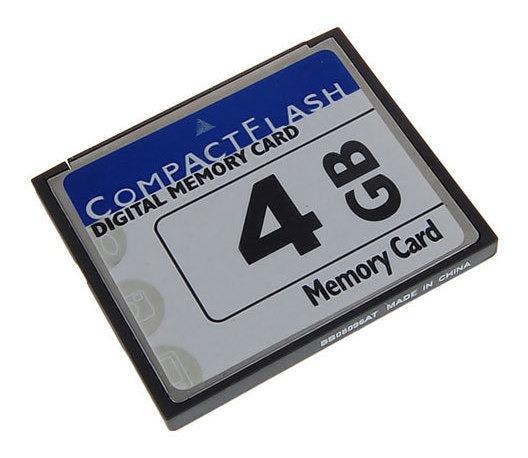 4gb Cf Cartão Memória Digital Para Câmeras Celulares Gps
