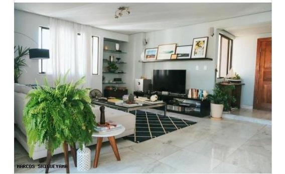 Apartamento Para Venda Em Salvador, Candeal, 4 Dormitórios, 3 Suítes, 4 Banheiros, 3 Vagas - Vg1924