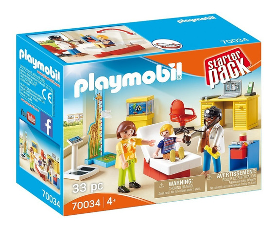 Playmobil 70034 Pediatra Starter Pack Geobra