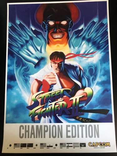 street fighter 2 movie poster