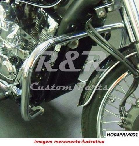 Protetor De Motor Honda Shadow 750 11 Em Diante Tradicional