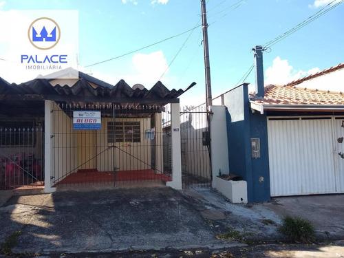 Imagem 1 de 9 de Casa Com 1 Dormitório Para Alugar, 90 M² Por R$ 650,00/mês - Parque Nossa Senhora Das Graças - Piracicaba/sp - Ca0794