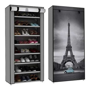 Zapatera Moderna 8 Repisas Torre Eiffel + Envío Gratis