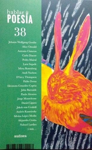 Revista Hablar De Poesía Nº38 - Aa. Vv