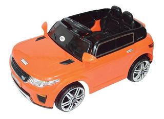 Auto A Batería Land Rov 6v Mp3 Radio Control Infantil Envio