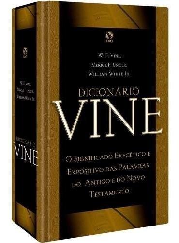 Dicionario Biblico Vine Com Termos Em Grego E Hebraico