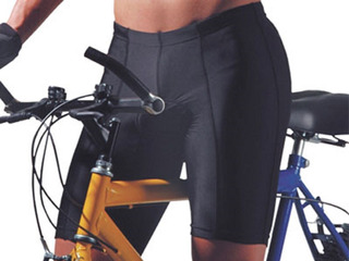 Bermuda Ciclista Acolchoada Preta Masculina Realtex - 0338