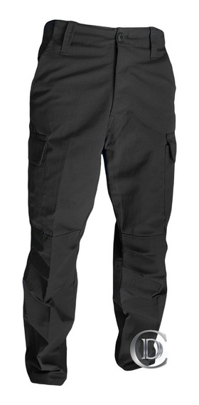 Pantalón Diseño Americano Ripstop Azul Negro Policial Nvl 2