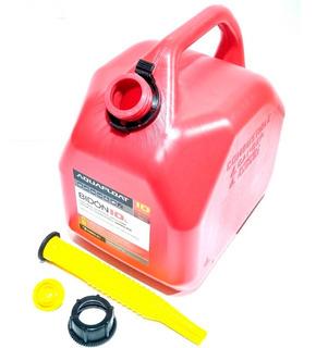 Bidón Combustible 10 Litros Con Vertedor Nafta Gasoil