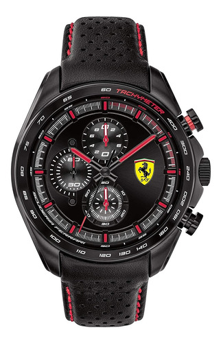 Ferrari Relógio Masc Original Quartzo Aço Inoxidável Sp