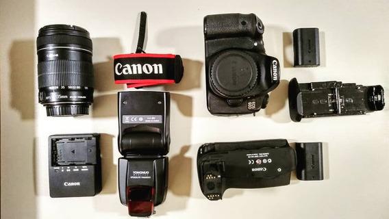 Câmera Fotográfica Profissional E Lente