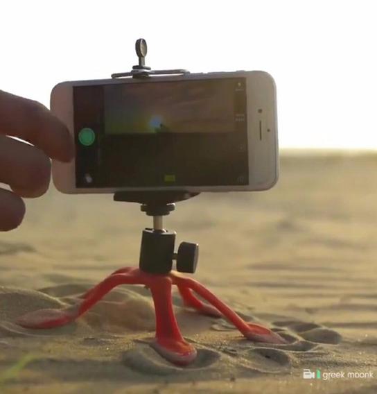 Gopro Flexível - Tripé De Silicone Para Smartphone