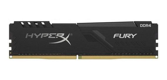 Memoria Ram Kingston Hyperx Fury Black 8gb Ddr4 2400mhz Pc