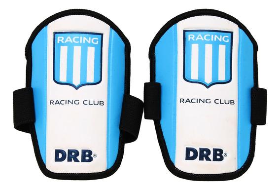 Protector Sportcom Futbol Racing Club Xxs Niño Bl/ce