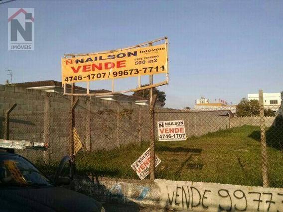 Terreno Residencial À Venda, Parque Suzano, Suzano. - Te0007