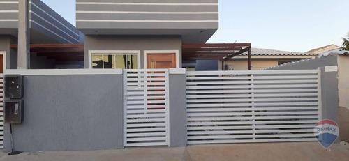 Casa Com 3 Dormitórios À Venda, 75 M² Por R$ 269.000,00 - Balneário Das Conchas - São Pedro Da Aldeia/rj - Ca1619