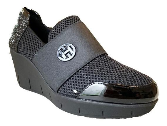 Zapato Para Dama Negros Hispana 6361