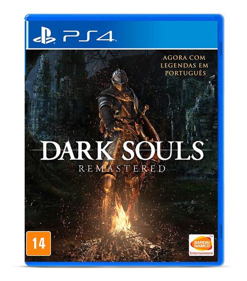 Dark Souls Remastered Mídia Fisica Jogo Ps4 Lacrado