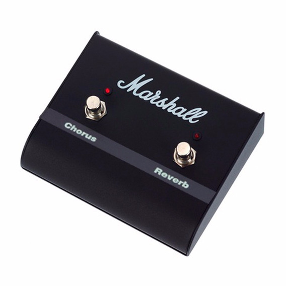 Pedal Footswitch Marshall Pedl 00029 Canais Chorus Reverb