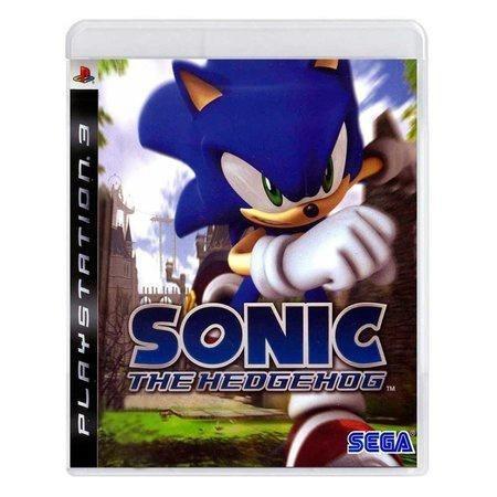 Sonic The Hedgehog Ps3 Mídia Física Pronta Entrega