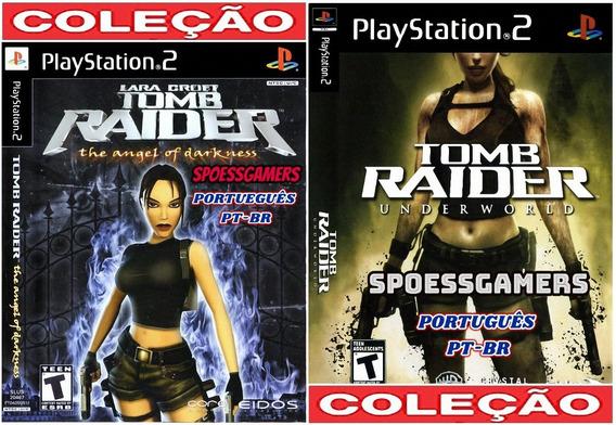 Tomb Raider Ps2 Underwold + Darkness Pt-br Patch
