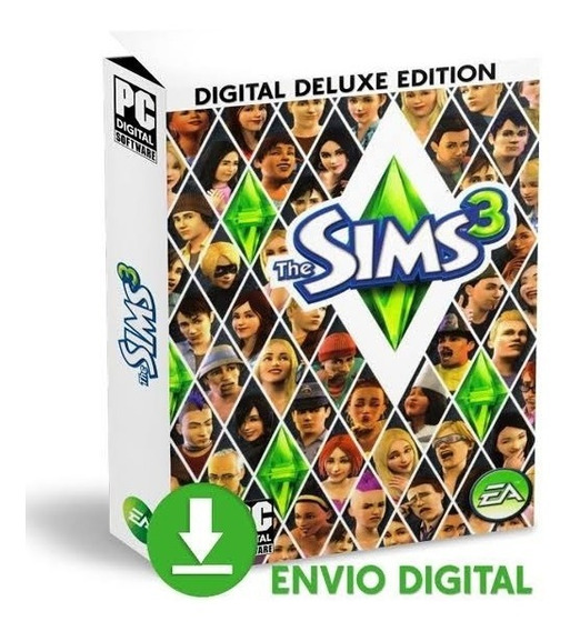 The Sims 3 - Todas As Expansões - Digital - Pc