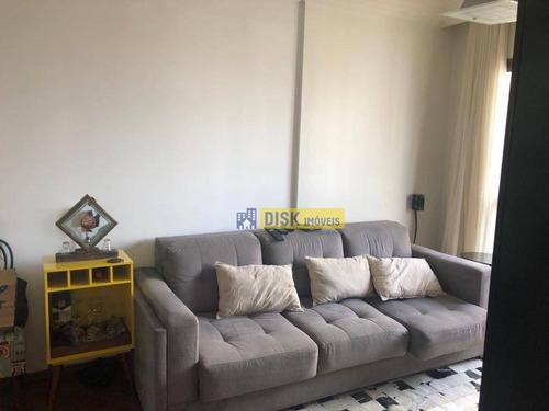 Imagem 1 de 8 de Apartamento Com 2 Dormitórios À Venda, 64 M² Por R$ 370.000,00 - Baeta Neves - São Bernardo Do Campo/sp - Ap2142