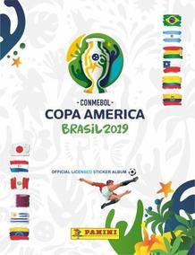 Figurinhas Copa América 2019 Completo - Sem Álbum