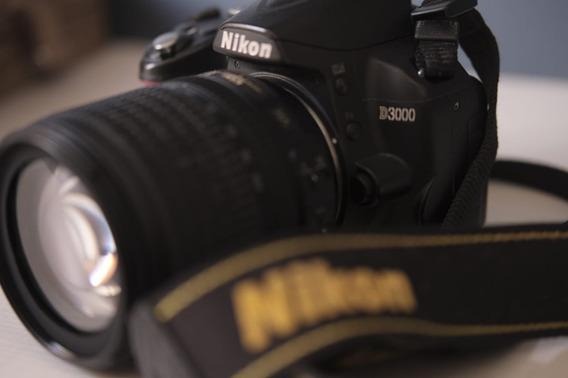 Nikon D3000 + Lente 18-105