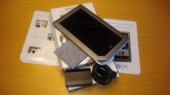 Nook Tablet - Barnes & Noble [relíquia] Caixa E Manual